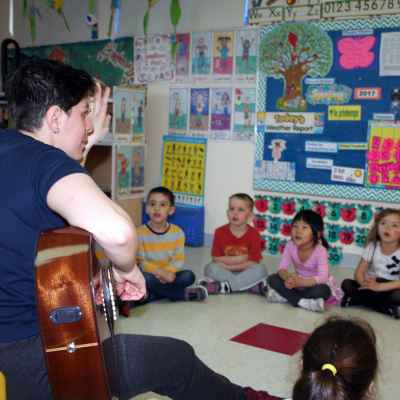 Music appreciation kids daycare montreal